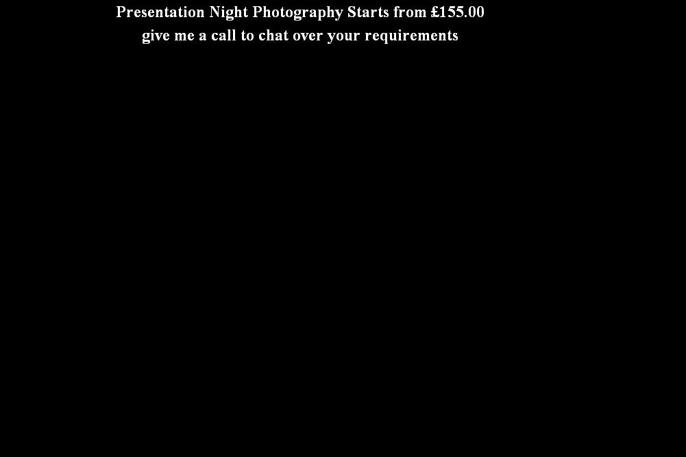 Presentation Night Photography Starts from £155.00